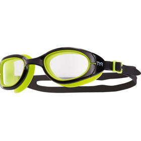 TYR Special Ops 2.0 Transition Goggles Heren, clear/black/lime green